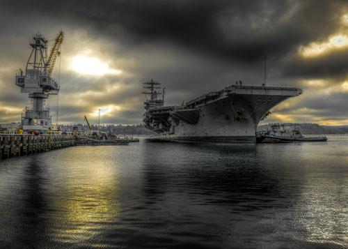 USS-Nimitz-in-Puget-Sound