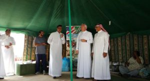 A day in the desert – S&K Aerospace acclimates foreign companies and employees in Saudi Arabia