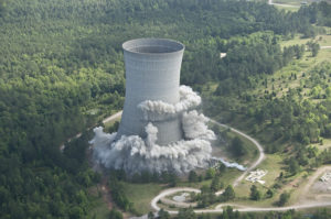 SRS Implosion of K Cooling Tower