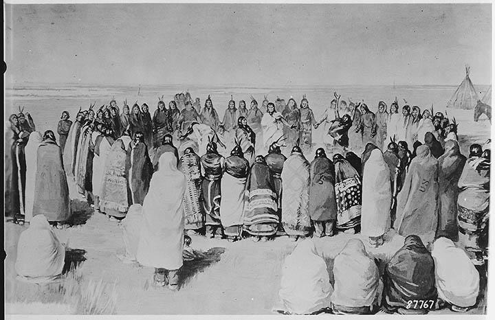 Plains Indian Round Dance