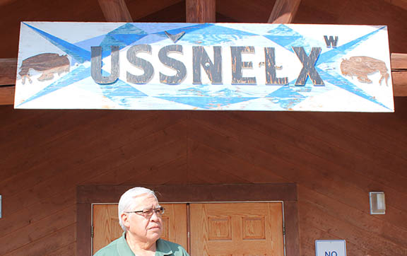 Tony Incashola at Culture Committe Building