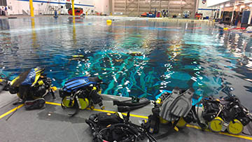 Neutral Buoyancy Laboratory Pool