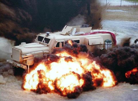 USMC Cougar Blast Protection