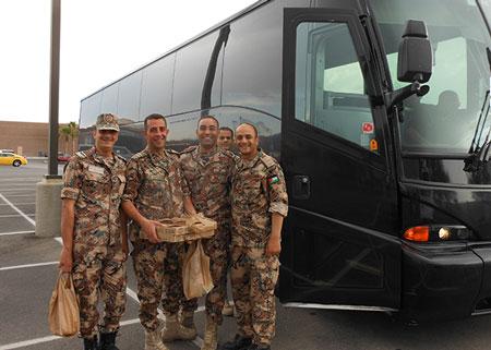 SKA-RED-FLAG-Jordanian-Pilots-pizza-break-after-training