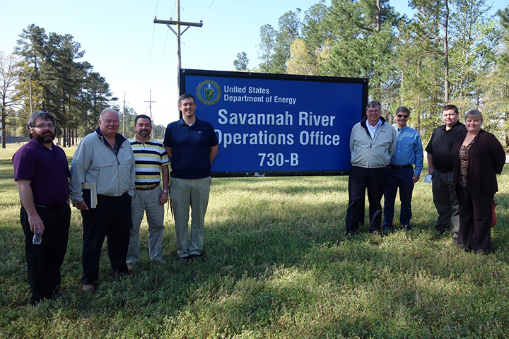 SKLS Savannah River Site Team Photo 2016