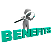 benefits link button