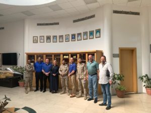 S&K Aerospace with their RSAF counterparts during a Khamis Base supply meeting