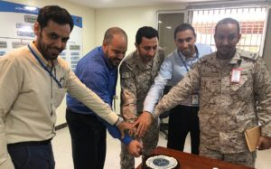 S&K Aerospace and RSAF partners doing some team building in Saudi Arabia.